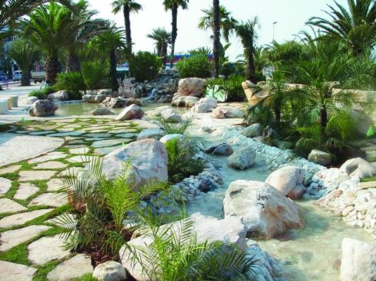 San benedetto del tronto 07 giardino delle palme - Immagini di giardini di villette ...