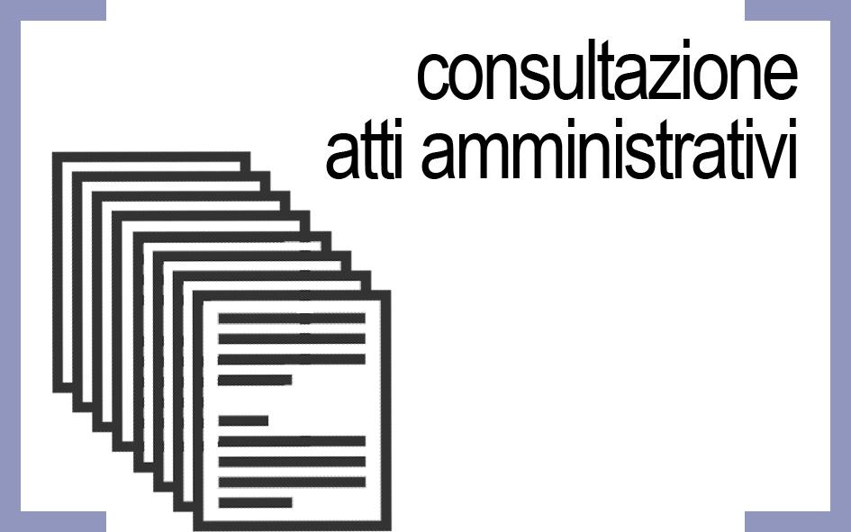 Consultazione atti amministrativi
