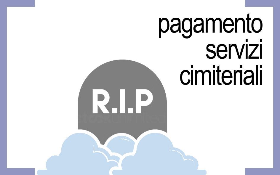 PAGAMENTO SERVIZI CIMITERIALI
