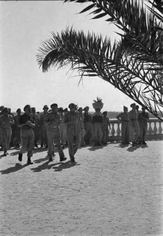 Le truppe polacche arrivate a San Benedetto del Tronto