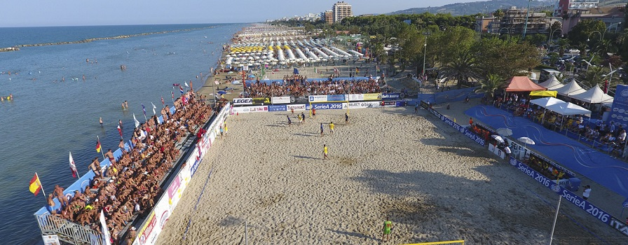 "Torneo di volley ""circuito biper beach volley serie A1"" maschile e femminile"