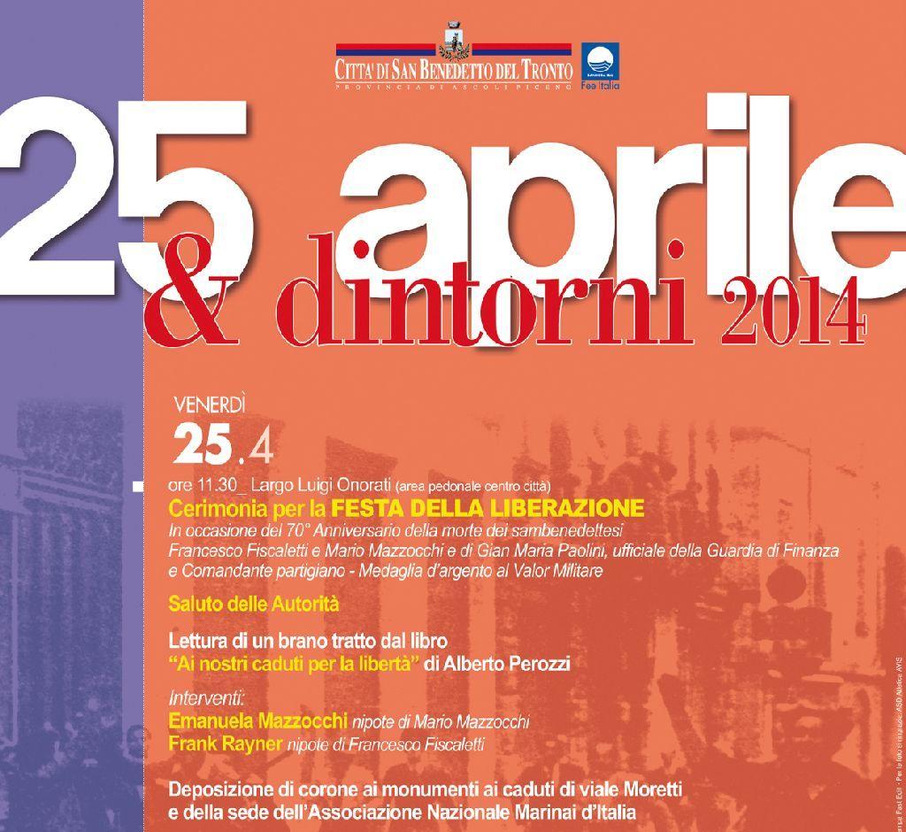 25 Aprile, tutti gli appuntamenti