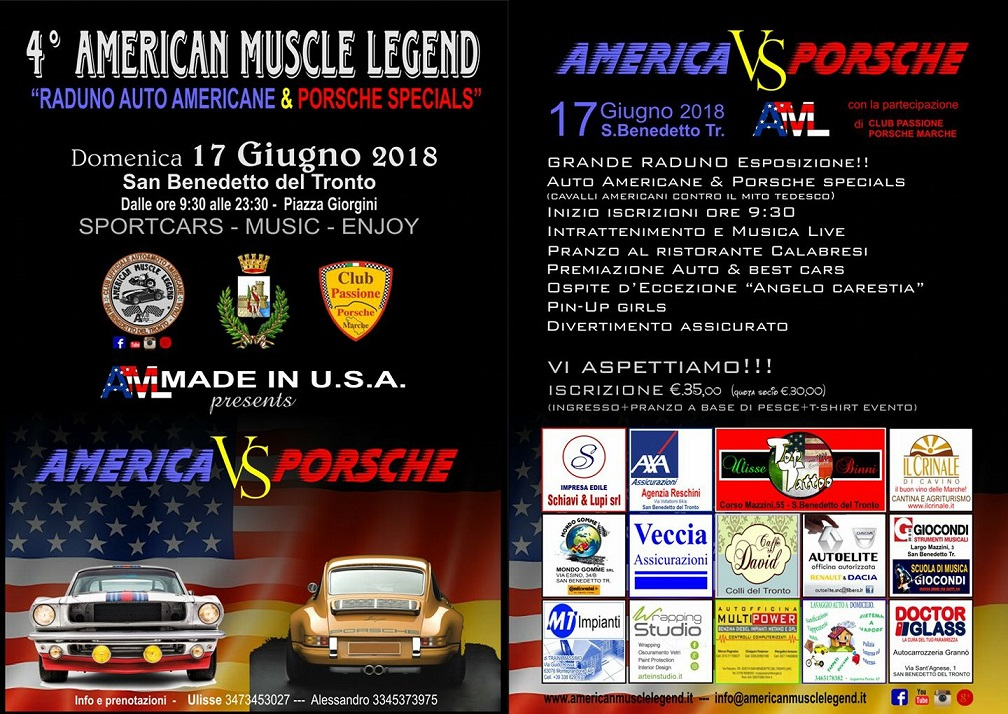 American muscle legend