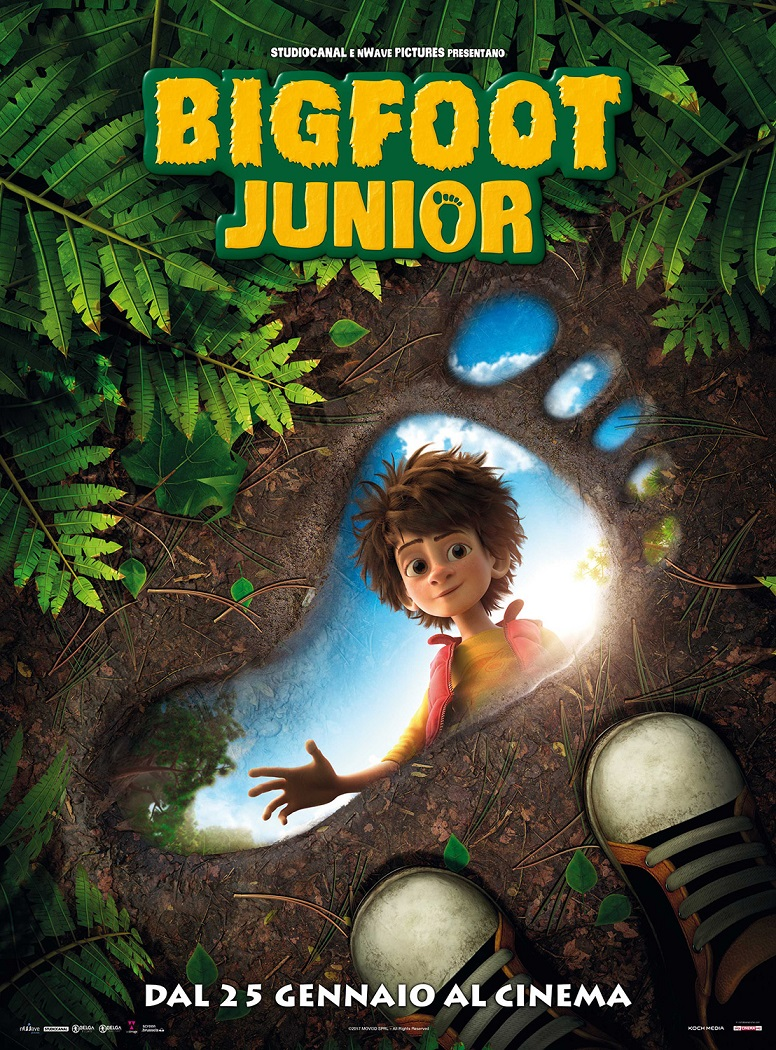 """Bigfoot junior"" di Jeremy Degruson, Ben Stassen"
