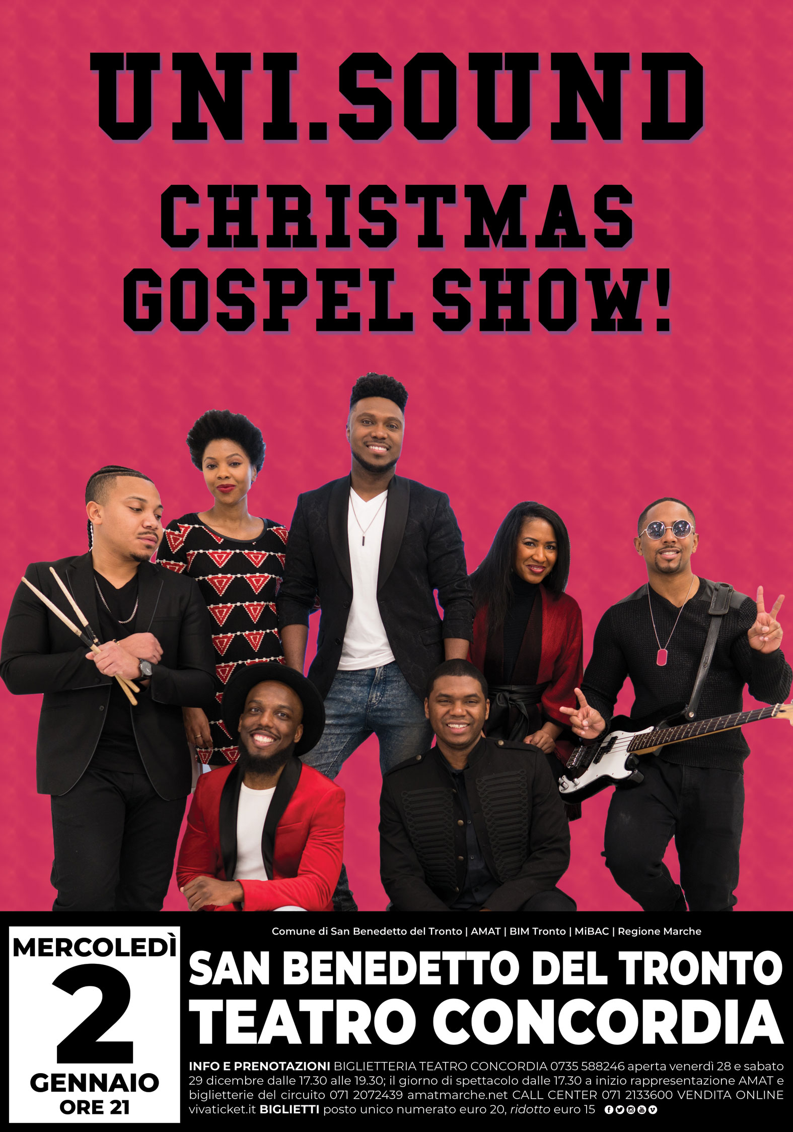 UNI.SOUND CHRISTMAS GOSPEL SHOW!