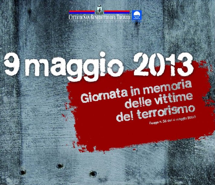 Si celebra il giorno del ricordo delle vittime del terrorismo