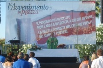 L'avvenimento in piazza