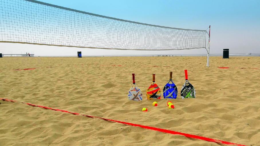 Foto beach tennis