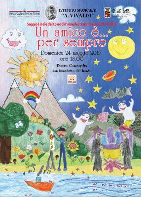 La copertina della brochure dello spettacolo