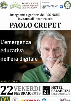Incontro con Paolo Crepet