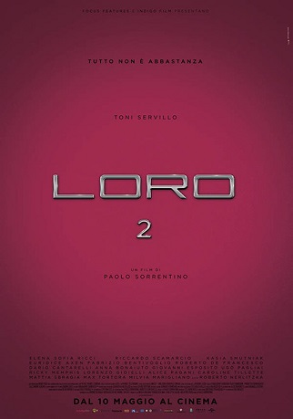 """""""Loro 2"""" di Paolo Sorrentino"""