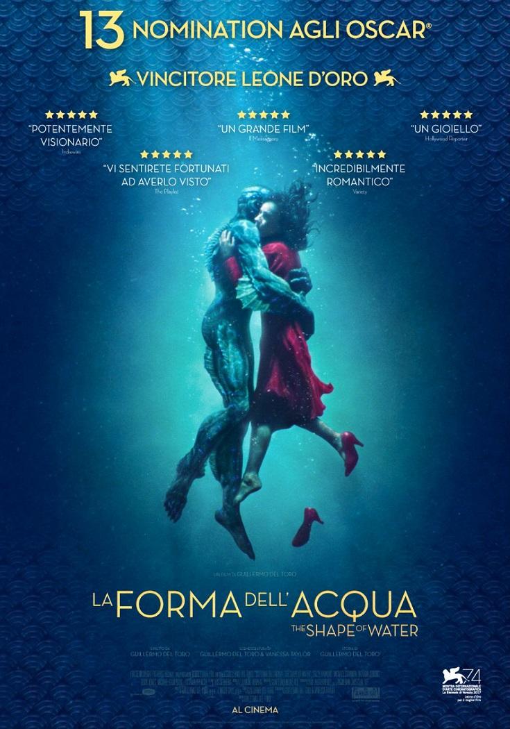 """""""La forma dell'acqua"""" di Guillermo Del Toro"""