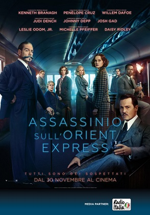 """Assassinio sull'Oriente Express"" di Kenneth Branagh."