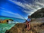 Lega all'amo - gara di pesca per bambini