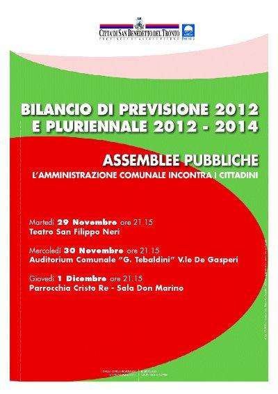Manifesto delle Assemblee pubbliche