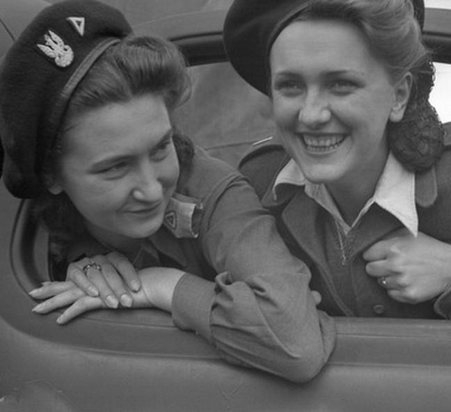 Le camioniste polacche durante la guerra in una mostra