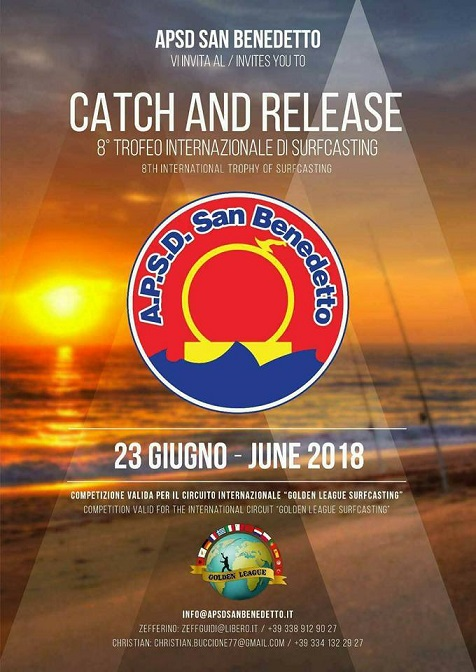 VIII trofeo internazionale di surfingcasting catch and release