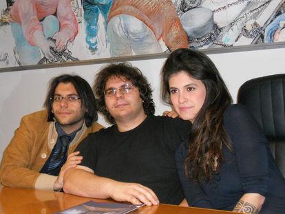 L'artista con i Lamantino brothers