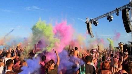 Color beach