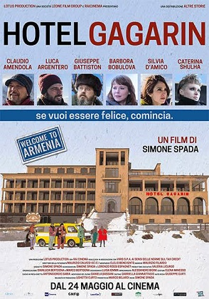 """Hotel Gagarin"" di Simone Spada"