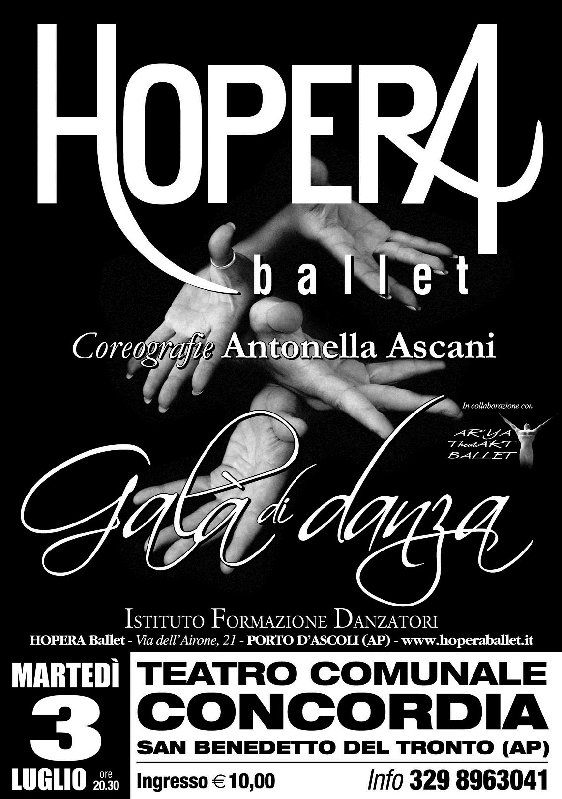 """""""Gala di Danza""""di Hopera Ballet"""