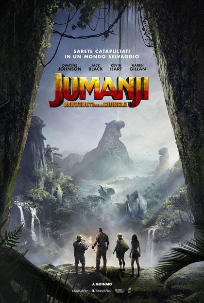 """""""Jumanji - Benvenuti nella giungla"""" di Jake Kasdan"""