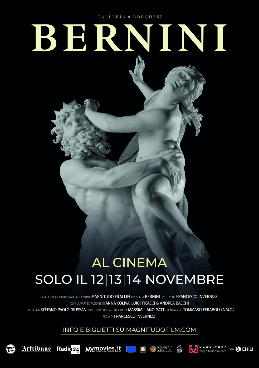 L'arte al cinema -Evento Speciale BERNINI di Francesco Invernizzi