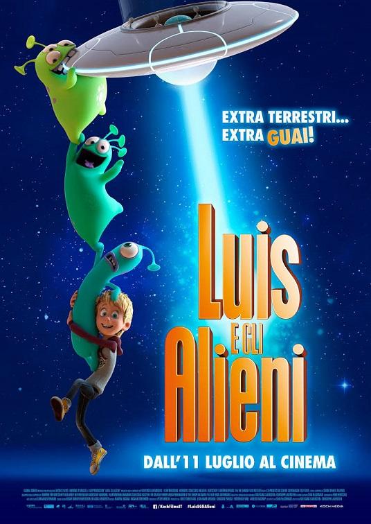 """Luis e gli Alieni"" di Christoph Lauenstein, Wolfgang Lauenstein, Sean McCormack"