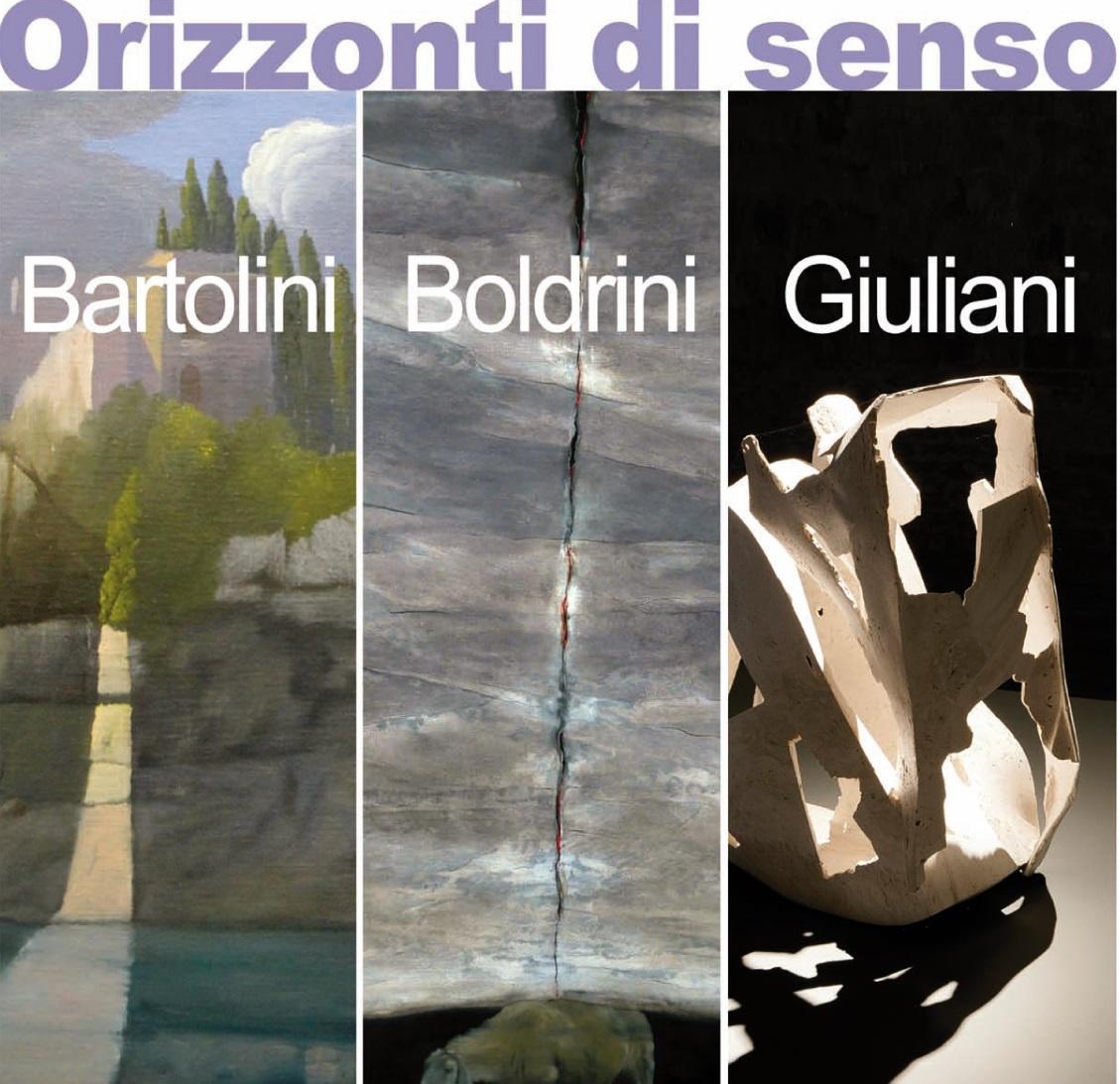 """In Palazzina gli """"Orizzonti di senso"""" di Bartolini, Boldrini e Giuliani"""