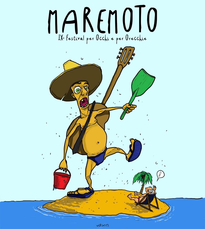 Il nuovo logo del Maremoto Festival 2015