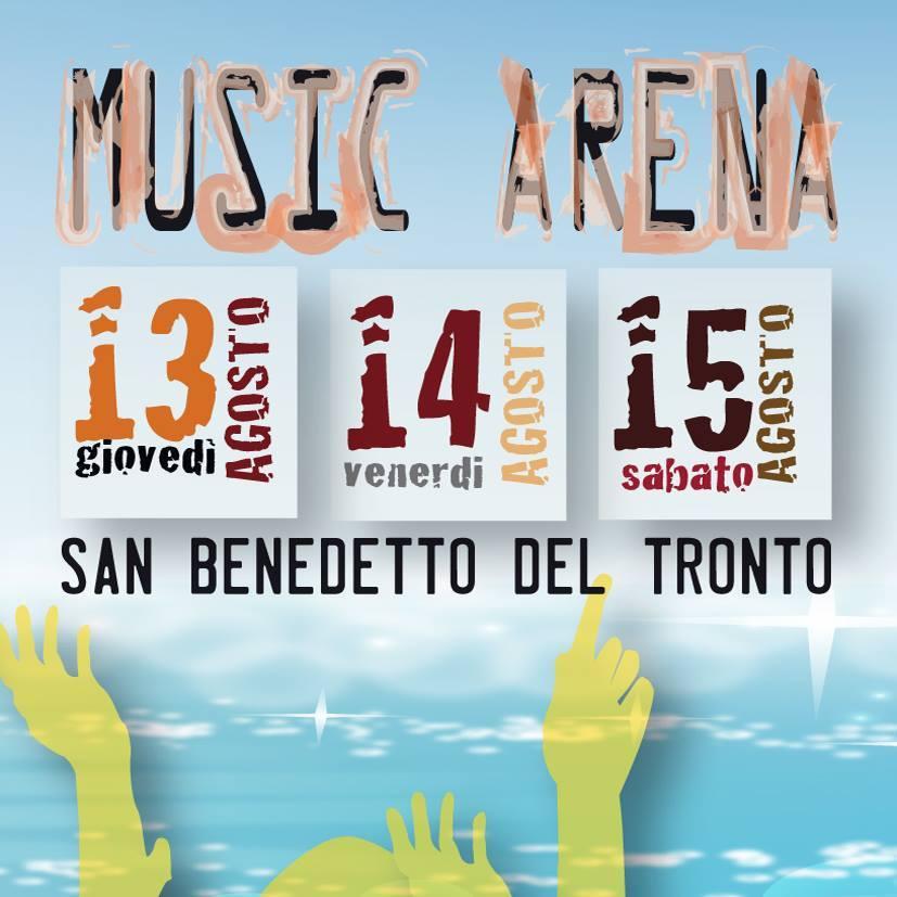 Music arena: a Ferragosto si balla sulla spiaggia