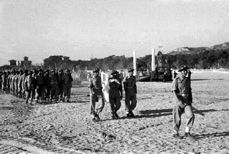 Le truppe polacche entrano a San Benedetto