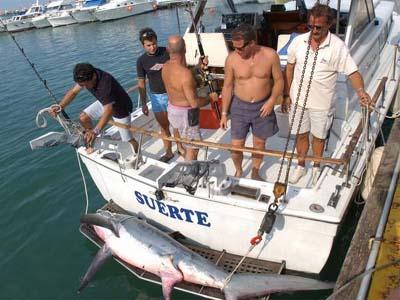 Pesca d'altura in drifting