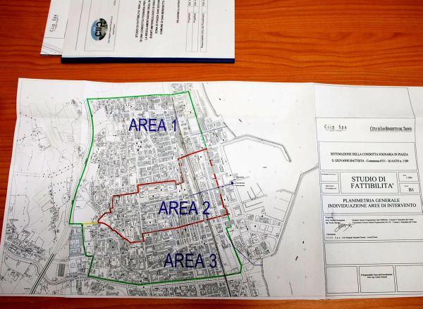 l'area interessata dal progetto