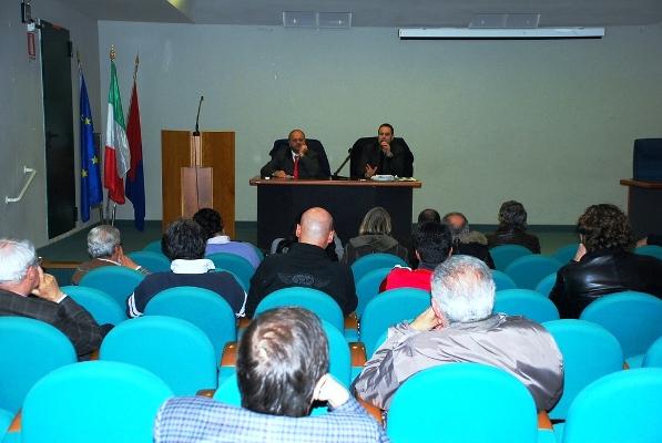 Una foto dell'incontro