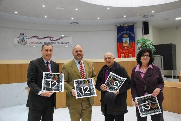La presentazione del calendario 2012