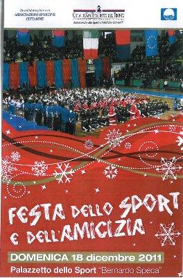 Locandina Festa dello sport e dell'amicizia