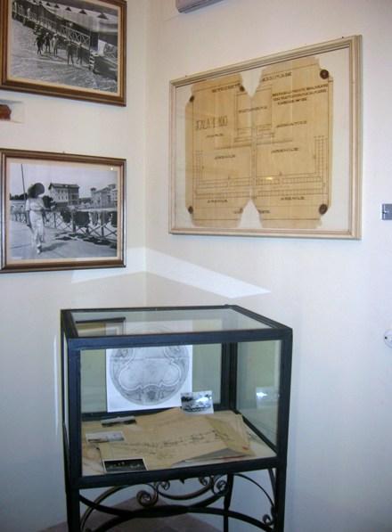 La teca contenente documenti storici