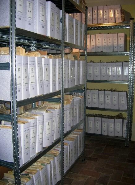 Il deposito dell'Archivio
