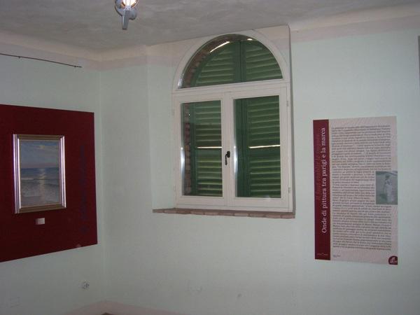 L'angolo di una sala