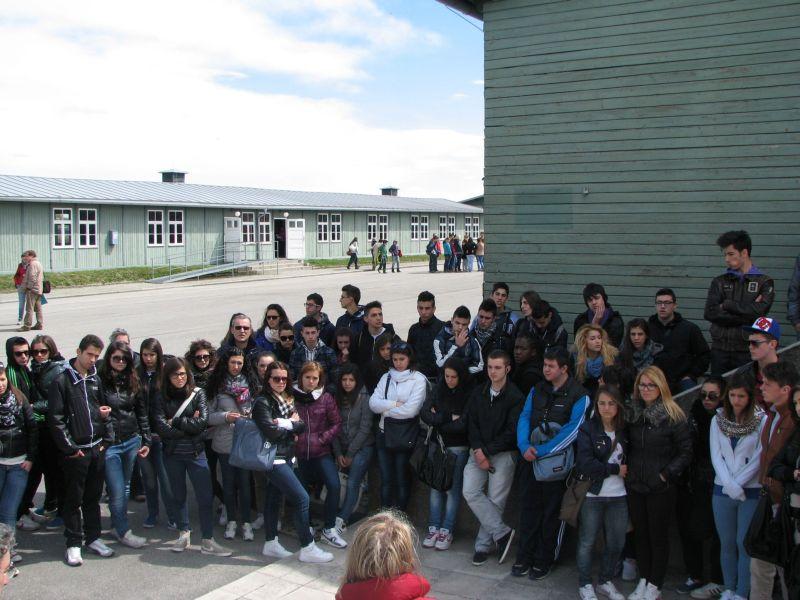 La visita al campo di Mauthausen