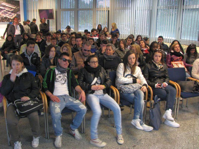 L'incontro nella scuola superiore di Steyr