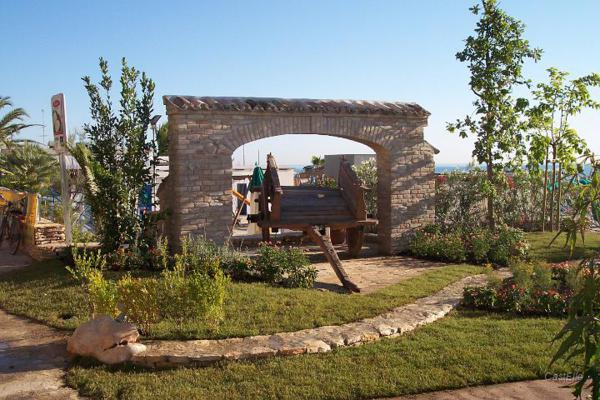 """Il """"Giardino di campagna"""" sul nuovo Lungomare"""