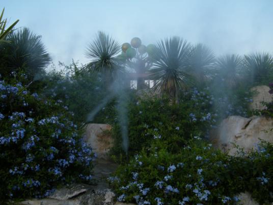 Uno dei giardini sul nuovo Lungomare