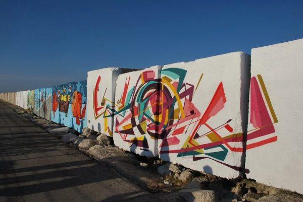 Il MAM (Museo d'Arte sul Mare) - I Murales
