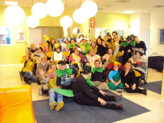 La festa di Carnevale al Cediser