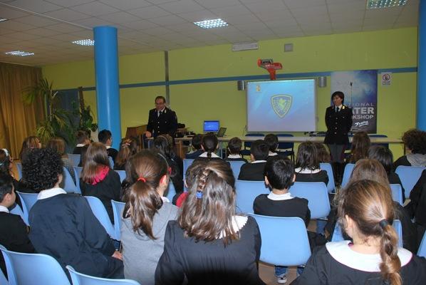 """Alcuni momenti del progetto alla Scuola """"Marchegiani"""""""