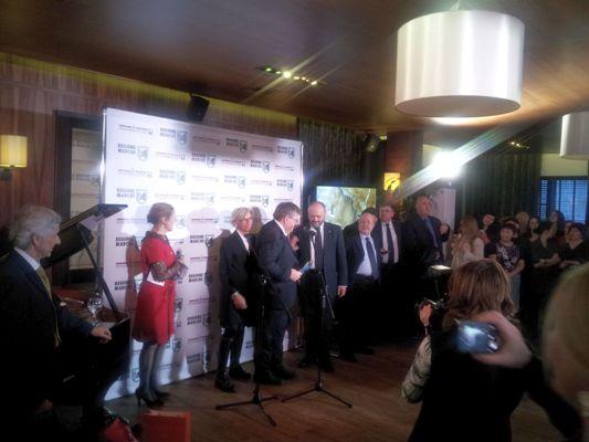 """Le foto della serata di gala """"Luxury Marche"""" a Mosca"""