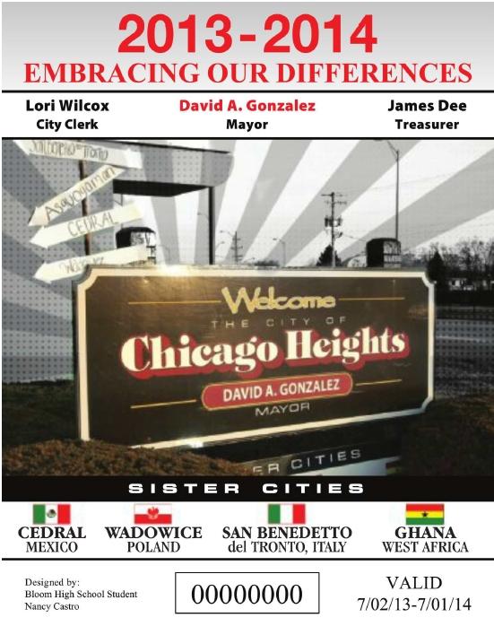 Il bollo di Chicago Heights