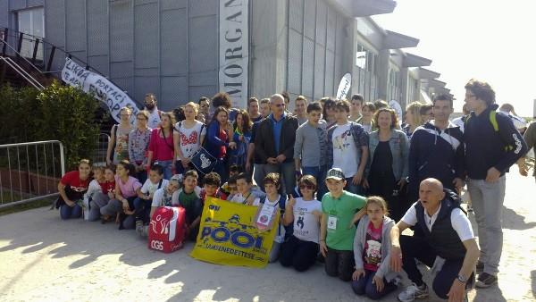Il viaggio Edusport a Riccione